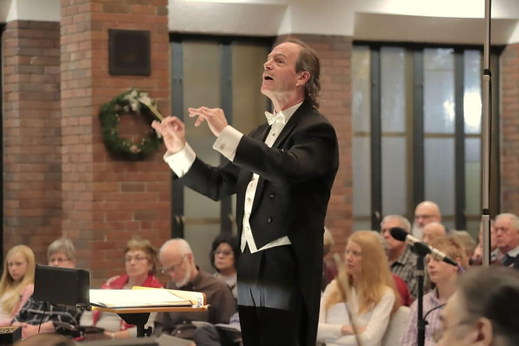 Messiah 2019 - Phillip Bauman, Conductor